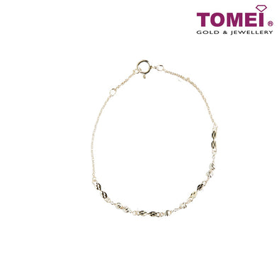 Online Exclusive] Frosty Faith Expandable Bracelet | Tomei Sterling Silver 925