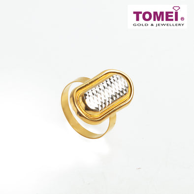[Online Exclusive] Stylishness with Subtlety Ring | Tomei Yellow Gold 916 (22K) (9O-RWK20008-2C)