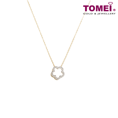 Love Is ... Necklace | Tomei Yellow Gold 916 (22K) (AS-NCA182474-2C)
