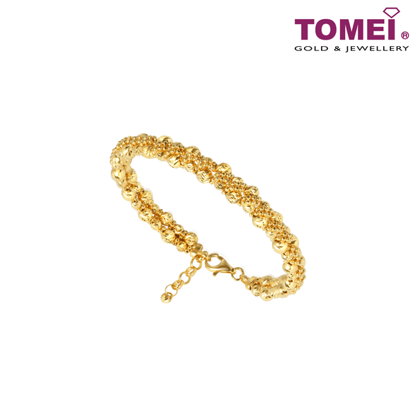 Flora Bangle | Tomei Yellow Gold 916 (22K)