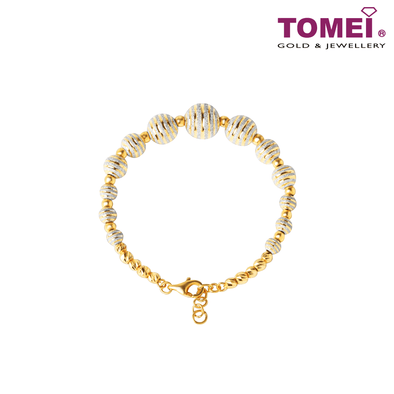 Bead Bracelet | Tomei Yellow Gold 916 (22K) (9M0404139)