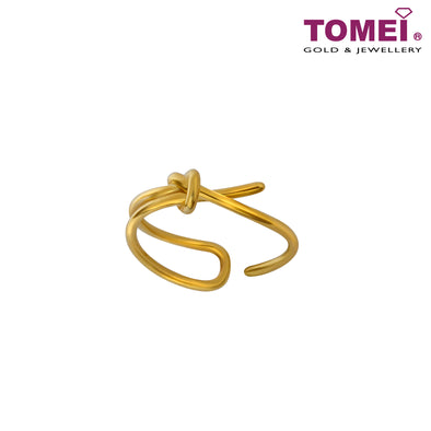 Perfect Knot Ring of Everlasting Affection | Tomei Yellow Gold 916 (22K) (9O-YG0703R-1C)