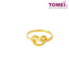 [Online Exclusive] Love Triumphs Ring | Tomei Yellow Gold 916 (22K) (9O-RG1435-1C )