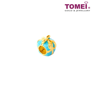 [Online Exclusive]Gift of My Life Charm | Tomei Yellow Gold 916 (22K) (TM-YG0548P-T-EC)