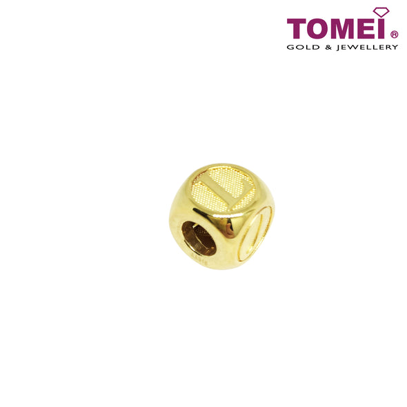 [Online Exclusive] Love Dice Charm | Tomei Yellow Gold 916 (22K) (TM-ABIT055-HG-1C)