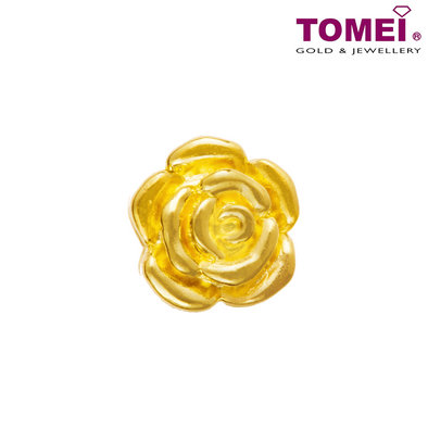 [Online Exclusive] Petals of Love Charm | Tomei Yellow Gold 916 (22K) (TM-ABIT063-HG-1C)