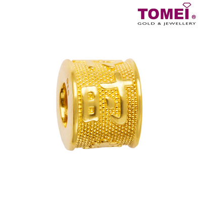 [Online Exclusive] Shi Lai Yun Zhuan Lucky Charm | Tomei Yellow Gold 916 (22K) with Complimentary Bracelet (TM-ABIT065-HG-1C)
