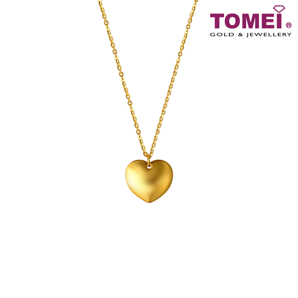 [Online Exclusive] Love Minimalist Necklace | Tomei Yellow Gold 999 (5D) (BTN-5D-011)