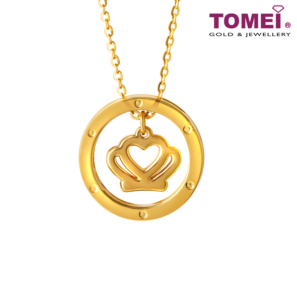 [Online Exclusive] Queen Necklace | Tomei Yellow Gold 999 (24K) (BTN-5D-016)