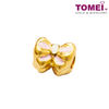 [Online Exclusive] Sweet Ribbon Charm | Tomei Yellow Gold 916 (22K) with Complimentary Bracelet (TM-ABIT061-HG-EC)