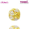 "Tomei Yellow Gold 916 (22K) ""Ocean of Wondrous"" Dual-Tone Ball Chomel Charm (TM-YG0615P-2C)"