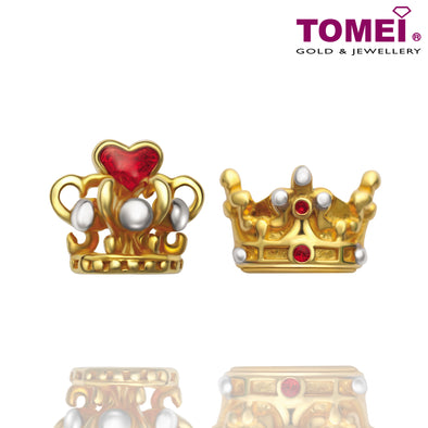 Tomei Yellow Gold 916 (22K) The Golden Heirloom Earrings (9Q-YG1122E-EC)