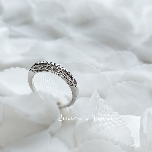 Lovely Shine Diamond Ring | Tomei White Gold 375 (9K) (D60050378)