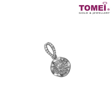 Pendant of Resplendent Radiance | Winter Grace Collection | Tomei White Gold 750 (18K) (EK-PD0276 )