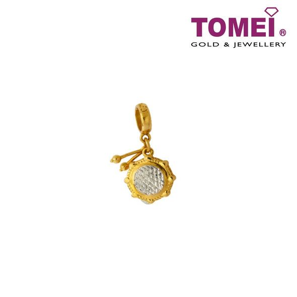 [Online Exclusive]Love Tempo Drum Charm | Tomei Yellow Gold 916 (22K) (9P-YG0533P-1C)