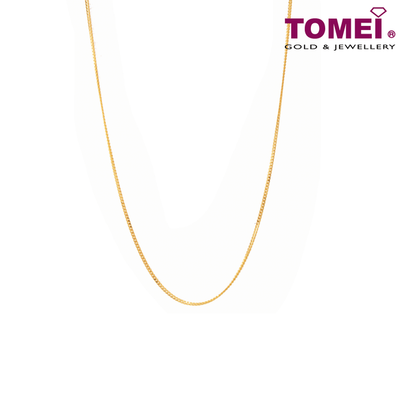 First Love Chain | Tomei Yellow Gold 916 (22K) (9N-ZS12-02)