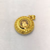 "Tomei Yellow Gold 999 (24K) ""Fu on Coin"" Pendant (G-SLYZ-JQFZ)"