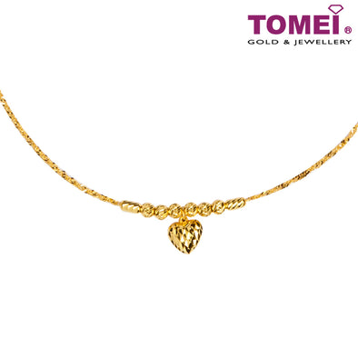 Love Necklace | Tomei 916 (22K) Yellow Gold (NN2224-G-1C)