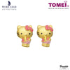 "Tomei x Prima Gold Hello Kitty Yellow Gold 999 (24K) ""Balloonpants Collection"" Earrings (HK-111E3526)"