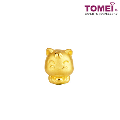 "Tomei Yellow Gold 916 (22K) Sweet Blessing ""Horse"" Zodiac Pendant (9P-YG0231P-HS-1C)"