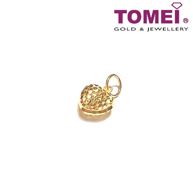 [Online Exclusive] Beloved Glitzy Glam Pendant | Tomei Yellow Gold 916 (22K) (9P-LSXR-9MM-1C)