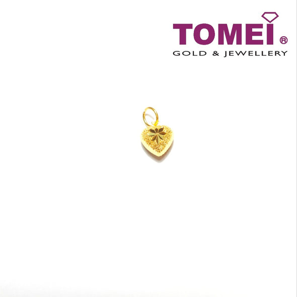[Online Exclusive] Bebloom Glitzy Glam Pendant | Tomei Yellow Gold 916 (22K) (9P-ZSXR-9MM-1C)