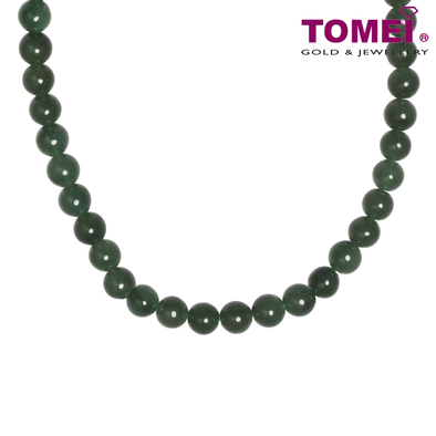 Tomei Palace Grace Green Jade Necklace (JN1-XX)