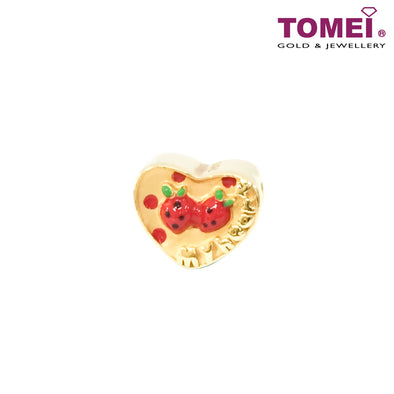 [Online Exclusive]Jelly Berry Charm  | Tomei Yellow Gold 916 (22K) (TM-YG0446P-EC)