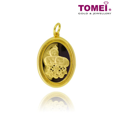 "TOMEI 2019 Gold Plated ""Crater of Fortune"" Pendant"