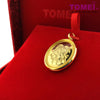 "Tomei Limited Edition 999 (24K) Gold Plated ""Crater of Fortune 2019"" Silver Pendant"