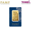 "Tomei x PAMP Suisse Yellow Gold 9999 (24K) ""Lady Fortuna"" Wafer 100 Grams (PSF-R-100G)"