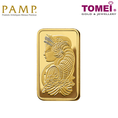 Tomei x PAMP Suisse Lady Fortuna Wafer | Fine Gold 9999 (PSF-R)