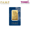 "Tomei x PAMP Suisse Yellow Gold 9999 (24K) ""Lady Fortuna"" Wafer 50 Grams (PSF-R-50G)"