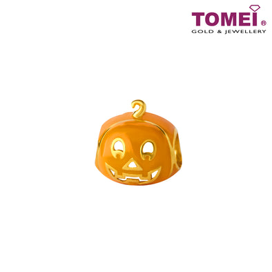 [Online Exclusive] Smiling Jack-o'-Lantern Pumpkin | Tomei Yellow Gold 916 (22K) (TM-YG0803P-EC )