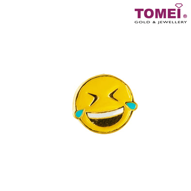 [Online Exclusive][Last Pieces] Love & Laughter Emoji Charm | Tomei Yellow Gold 916 (22K) (TM-ABIT076-HG-EC) Red