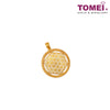 [Online Exclusive]Flower of Life Pendant 生命之花吊坠 | Tomei Yellow Gold 916 (22K) (XXP11268/9/ X4DCTP201567)