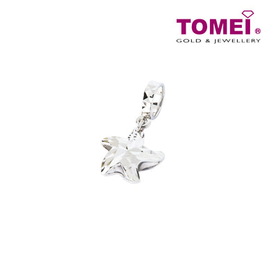 [Online Exclusive]Charm of the Spunky and Sassy Starfish | Tomei White Gold 585 (14K) (P5116/MF322) Sky Blue