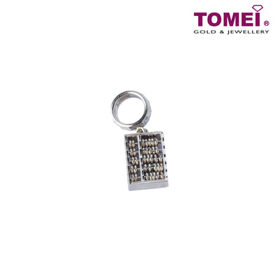 [Online Exclusive]Charm of Classic Abacus | Tomei White Gold 585 (14K) (P5670) Red
