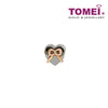 Swathed in Ribband with Love Charm | Tomei White Gold 585 (14K) (P5672)