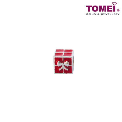 [Online Exclusive]The Ravishing Red Box of Surprises Charm | Tomei White Gold 585 (14K) (P5879) Red