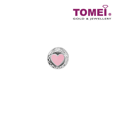 Circularity of Romance Charm | Tomei White Gold 585 (14K) (P5906)