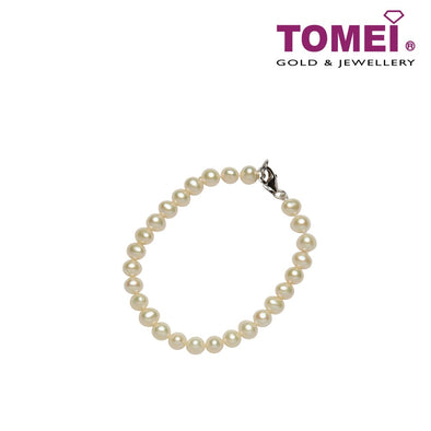 [Online Exclusive] Pearlfect Love Single Strand Pearl Bracelet | Tomei Pearl (B--PP-1MPW003-TU)