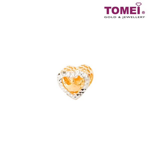 [Online Exclusive]Queen of My Heart Charm | Tomei Yellow Gold 916 (22K) (TM-YG0545P-2C)