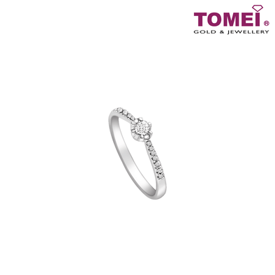 Ring | Tomei White Gold 375 (9K)