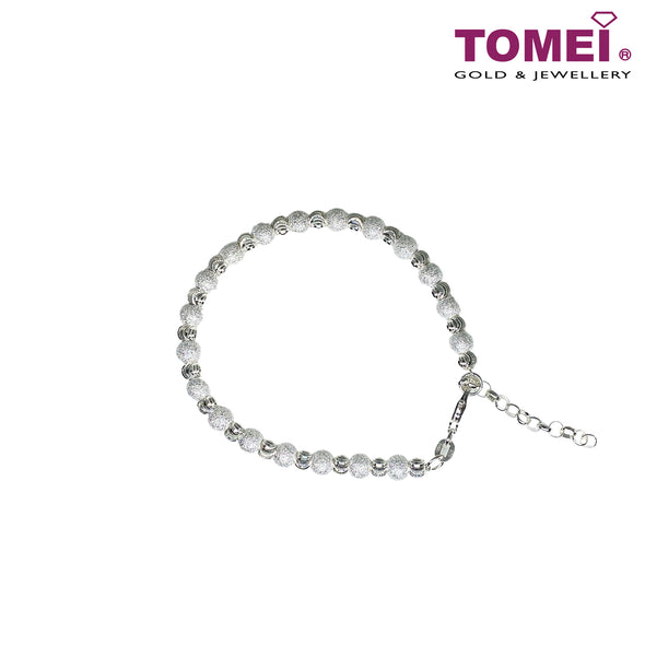 Snow Kissed with Ice Bracelet | Tomei Sterling Silver 925 (SB0019)
