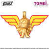 "Tomei x DC Justice League Super Heroes Yellow Gold 999 (24K) ""Wonder Woman"" Pendant (WW-1)"