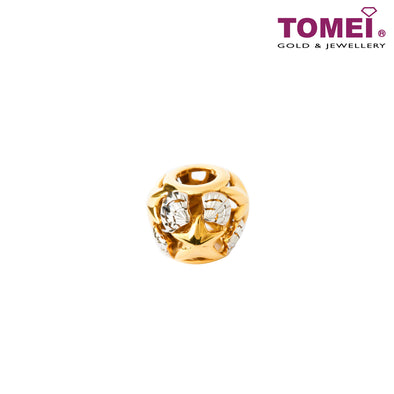 [Online Exclusive]Seashell Whispers Charm | Tomei Yellow Gold 916 (22K) (TM-YG0615P-2C)