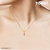 [Online Exclusive] Abacus Chomel Charm | Tomei Yellow Gold 916 (22K) with Complimentary Red Bracelet (TM-PVN0001-1C)