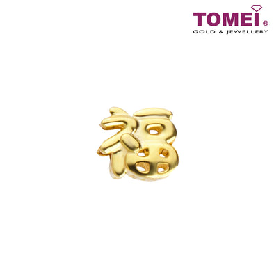 Fu Charm | Tomei Yellow Gold 916 (22K) (TM-YG0821P-1C)