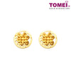 The Knot of Fortune Earrings | Tomei Yellow Gold 916 (22K) (9Q-YG1148E-1C)